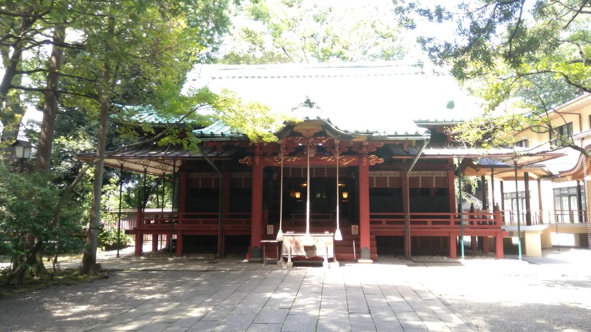赤坂氷川神社 社殿