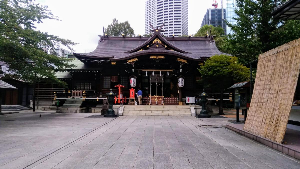 新宿十二社熊野神社 社殿