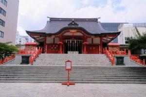 花園神社 拝殿