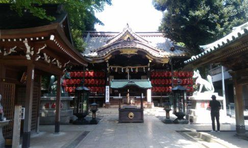 赤坂豊川稲荷 本殿