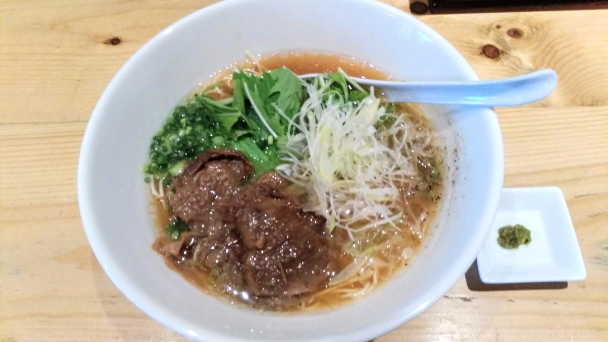 麺屋西川(曙橋)