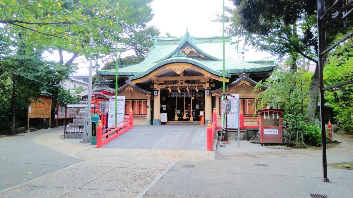 須賀神社 社殿