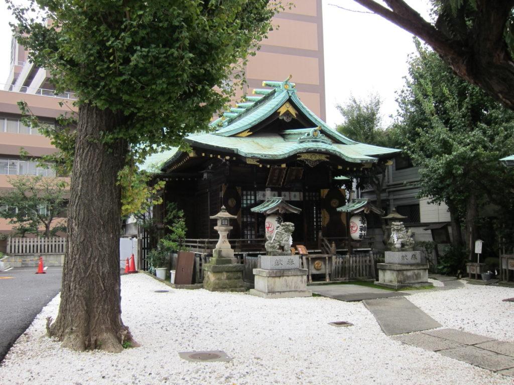 幸稲荷神社 拝殿