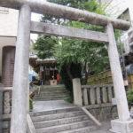 飯倉熊野神社 鳥居