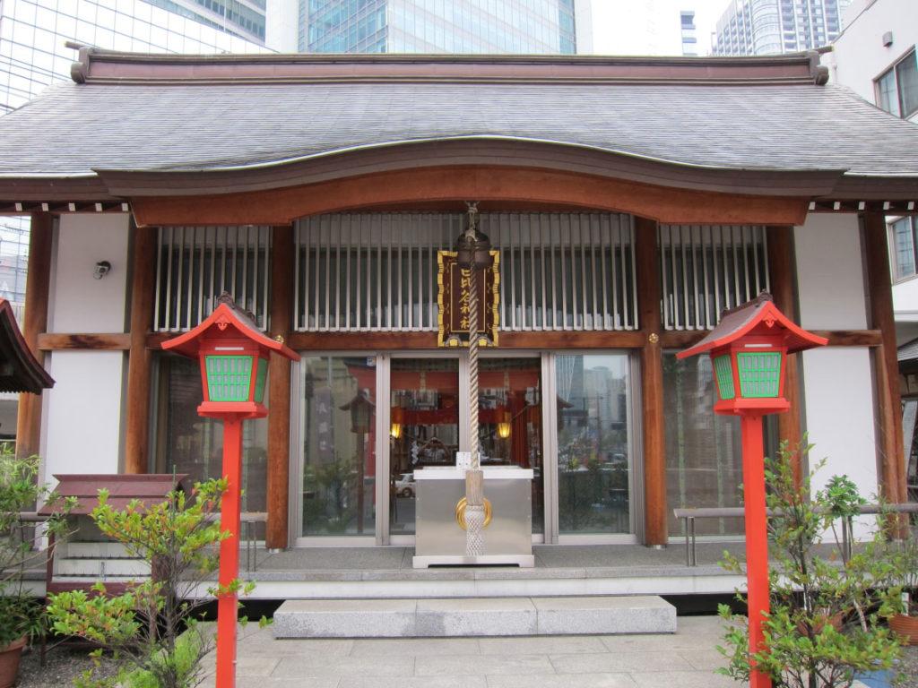 日比谷神社 拝殿