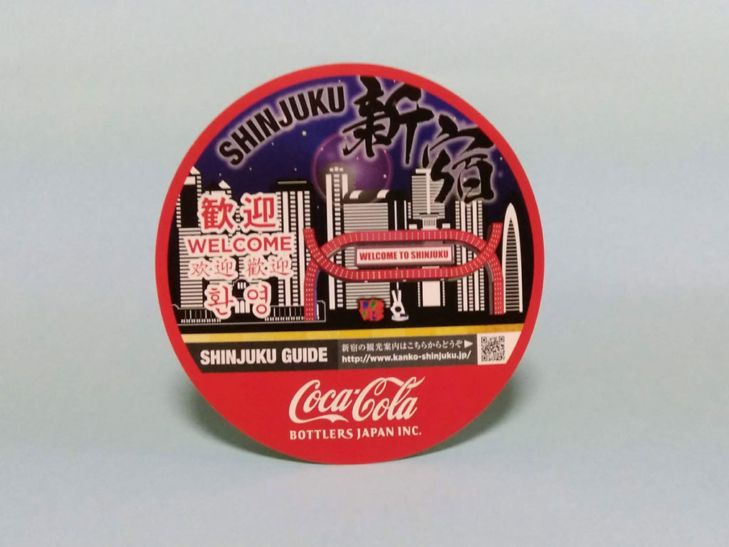 新宿オリジナルステッカー