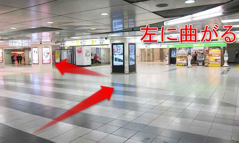 JR新宿駅から西武新宿駅への行き方・乗換!地上2ルートと地下ルート