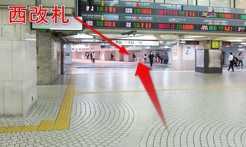 乗換》西武新宿駅からJR新宿駅への行き方!雨天は地下ルート